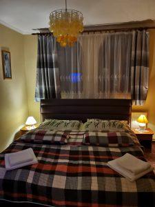 manželská posteľ uteráky